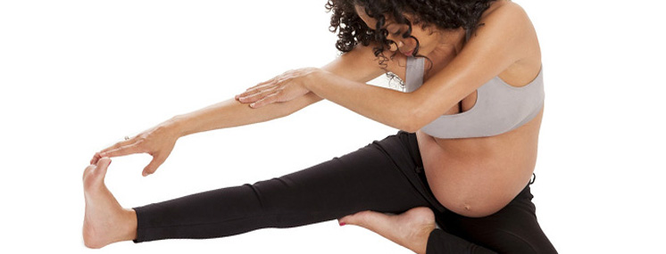 Cãibras nas pernas durante a gravidez.