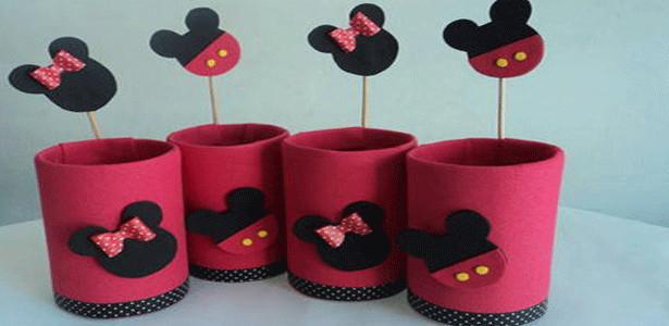 Frases Para Lembrancinhas De Aniversario: Lembrancinha De Aniversário Da Minnie E Mickey
