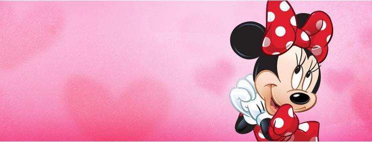 Molde e lembrancinha da Minnie vermelha e Minnie rosa