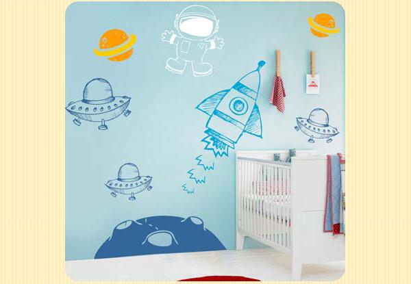 Adesivos de parede para decorar o quarto do bebê  Pediatra Virtual