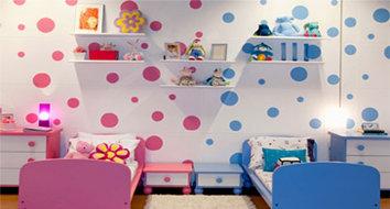 Dica para decorar quarto misto (menino e menina)