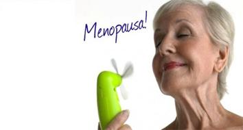 O que é a menopausa.