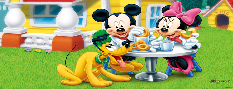 Lembrancinha de aniversário da Minnie e Mickey