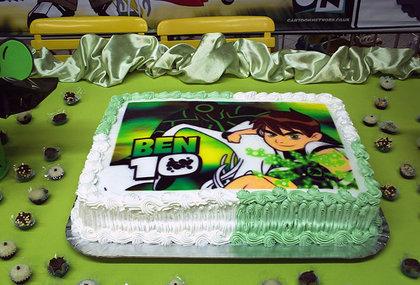 bolo duas cores ben 10